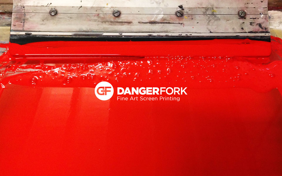 Welcome to Dangerfork Fine Art Screen Printing